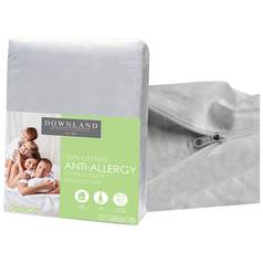 Downland Zipped Anti Allergy Duvet Protector - Superking