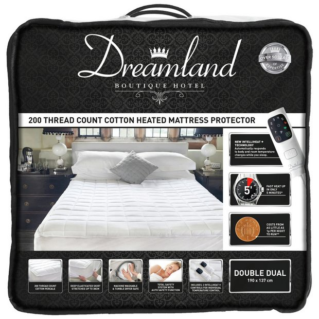 Buy Dreamland Boutique Dual Control Electric Blanket Double