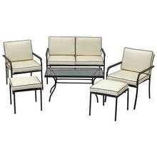 Argos Home Ronda 4 Seater Metal Sofa Set