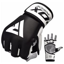 RDX Large/Extra Large MMA Grappling Gloves - Black
