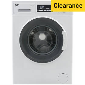 Bush WMDFX714W 7KG 1400 Spin Washing Machine - White
