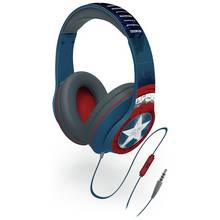 Captain America Kids On-Ear Headphones - Blue