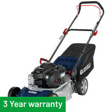 Spear & Jackson 46cm Hand Push Petrol Lawnmower - 125cc