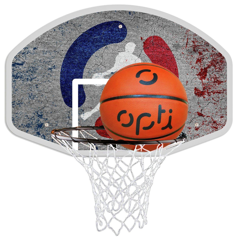 Opti Basketball Ring Board and Ball