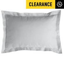 Argos Home Pair of 400 TC Oxford Pillowcases - Grey