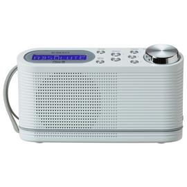 Roberts Play 10 DAB Radio - White