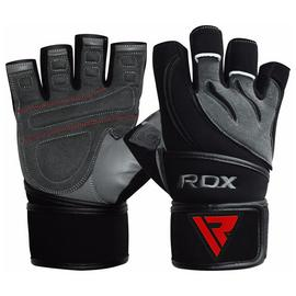 RDX Medium/Large Fitness Gloves - Grey