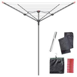 Vileda 60m 4 Arm Rotary Outdoor Washing Line