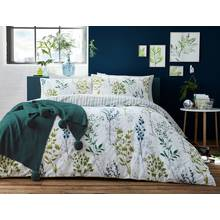 Appletree Meadow Grass Green Bedding Set - Kingsize