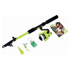 Matt Hayes Adventure Frogga 6ft Kids Fishing Rod & Reel Set
