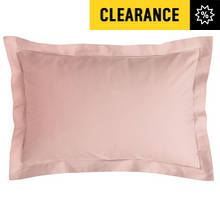 Argos Home Pair of 200 TC Oxford Pillowcases - Blush