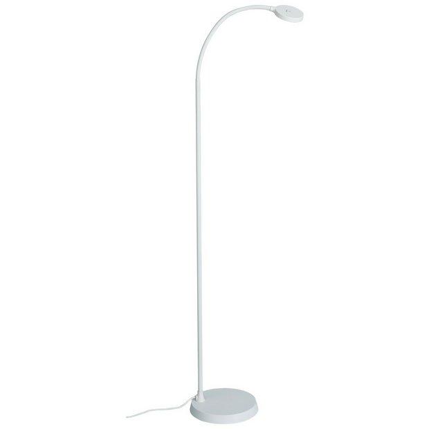 Buy habitat dotty led floor lamp white floor lamps argos