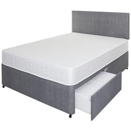 Argos Home Elmdon Memory Divan Bed - Small Double