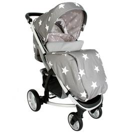 My Babiie Billie Faiers MB200 Stars Pushchair - Grey