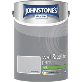 Johnstone's Wall & Ceiling Paint Silk 5L - Moonlit Sky