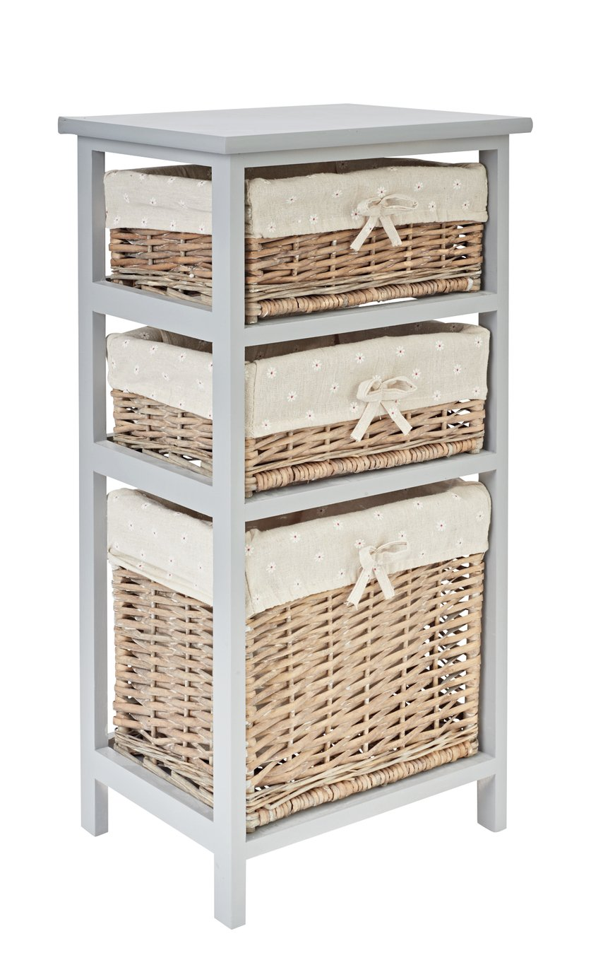 Results For 3 Drawer Basket Storage Unit