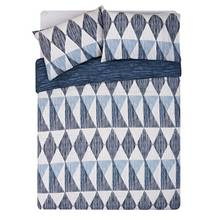 HOME Scratch Geo Bedding Set - Kingsize