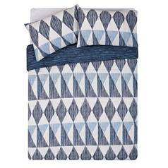 Argos Home Scratch Geo Bedding Set - Kingsize