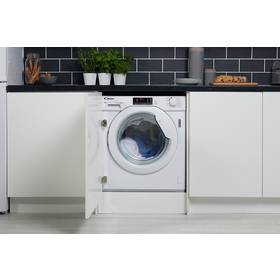 Candy CBWD8514D 8/5KG Integrated Washer Dryer- White