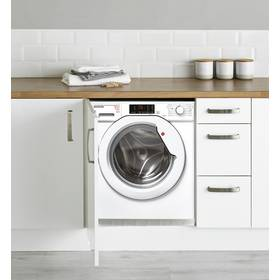 Hoover HBWD8514D 8/5KG Integrated Washer Dryer - White