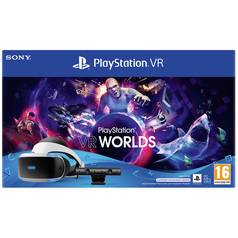 PSVR V2 with VR Worlds Mega Starter Bundle