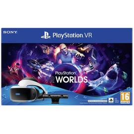 PS VR with VR Worlds Mega Starter Bundle
