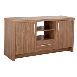 Argos Home Venice 2 Door TV & Sideboard Unit - Walnut Effect