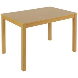 Argos Home Wood Effect 4 Seater Dining Table - Oak Effect