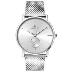 Accurist Men's Stainless Steel Milanese Mesh Bracelet Watch