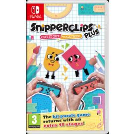 Snipperclips Plus Nintendo Switch Game