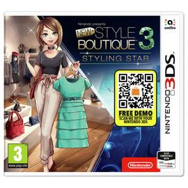 New Style Boutique Styling Star 3DS Game