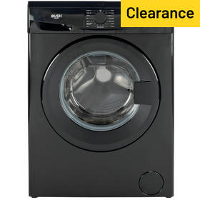 Bush WMDF914B 9KG 1400 Spin Washing Machine - Black