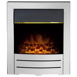 Adam Colorado 2kW Electric Inset Fire - Chrome