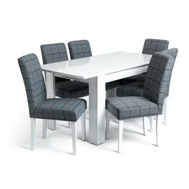 Results For Gloss Dining Table And 6 Chair