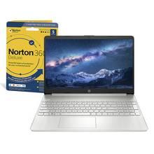 HP Slim 15.6in i3 4GB 128GB FHD Laptop & Norton 360