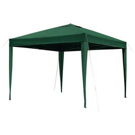 Argos Home 3m x 3m Pop up Garden Gazebo - Green