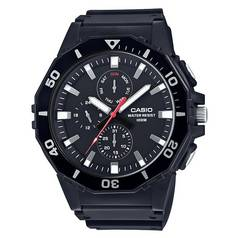 Casio Men's MRW-400H-1AVEF Multi Dial Black Strap Watch