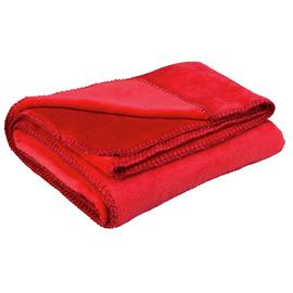 Argos Home Supersoft Throw - Poppy Red