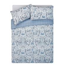 HOME Blue Paisley Bedding Set - Double