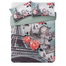 HOME Take Me to Paris Bedding Set - Double