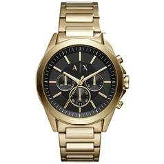 Armani Exchange Drexler Men's Gold Plated Bracelet Watch
