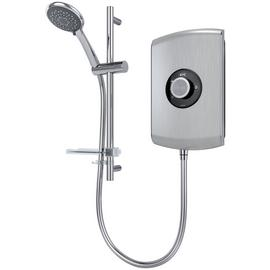 Triton Amore 8.5kW Electric Shower - Brushed Steel