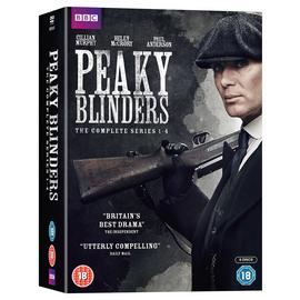 Peaky Blinders Series 1 - 4 DVD