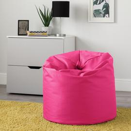 Argos Home Large Pink Classic Bean Bag