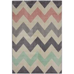 Creation Chevron Rug - 80x150cm - Multicoloured