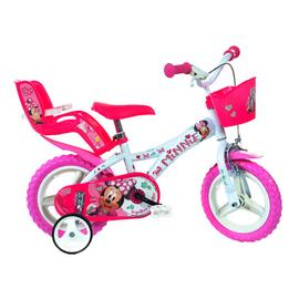 Dino Bikes Minnie Mouse 12 Inch Kids Bike