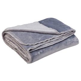 Argos Home Supersoft Throw - Flint Grey