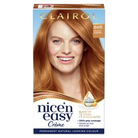 Clairol Nice'n Easy Hair Dye Golden Auburn 8WR