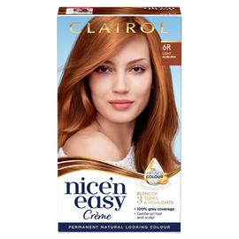 Clairol Nice'n Easy Hair Dye Light Auburn 6R