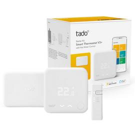 Tado Smart Thermostat Starter Kit V3+ with Hot Water Control